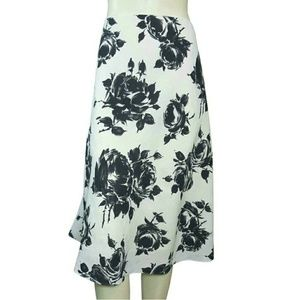 Talbots Skirts - Talbots Linen Floral A-Line Skirt